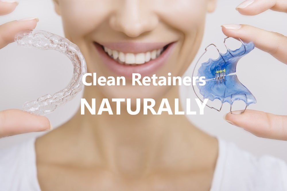 Clean retainers naturally dental aware feature image