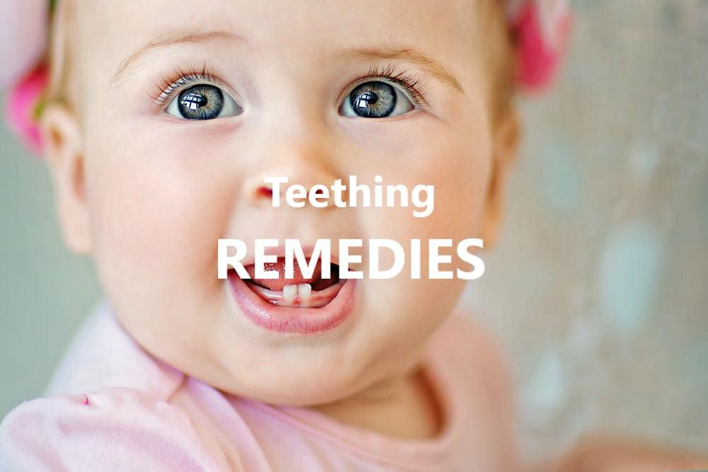 Teething remedies feature image dental aware