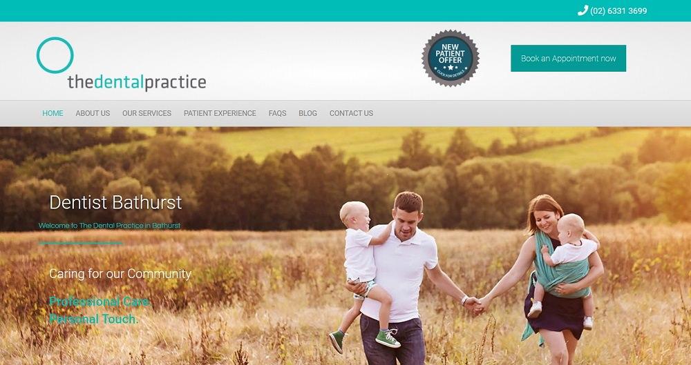 The Dental Practice Bathurst homepage
