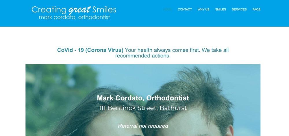 Mark Cordato Orthodontist Bathurst