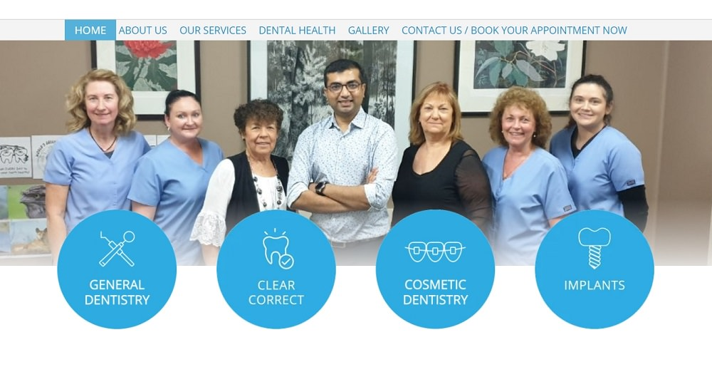 Nowra dentists screenshot dental aware