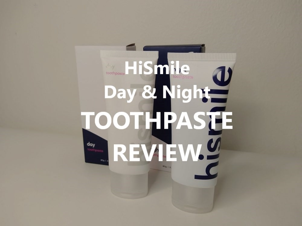 HiSmile Day & Night Toothpaste review feature image dental aware